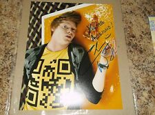 "CALUM WORTHY AUSTIN AND ALLY AUTOGRAPHED 8 X 10 MATTE PHOTO ""INSCRIBED"" (J)"