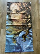 """1998 MADONNA Ray of Light Promotional Concert Tour 46"""" x 24"""" Cloth Banner - Nice"""