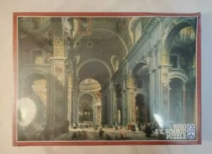 F.X. Schmid Puzzle St. Peter's Cathedral 5000 Pcs - NEW SEALED - EXTREMELY RARE
