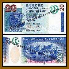 Hong Kong 20 Dollars, 2003 P-291 SCB Unc