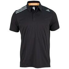 BNWT Mens Adidas Climachill Tennis Polo Response Barracade Black T-Shirt Squash