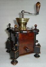 beau moulin à café de forme architecturale 19ème -  Kaffeemühle - Coffee Grinder