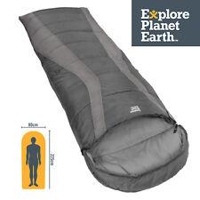 EPE 225x80cm EXPLORE PLANET EARTH BUCKLEY HOODED (-5CEL) SLEEPING BAG