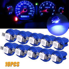 10X T5 B8.5D Gauge LED Car Dashboard Side Interior Dash Lights Bulbs Indicators
