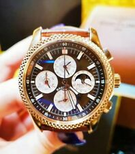 BREITLING H2936312/Q539 18K Rose Gold 42mm Perpetual Calendar Moon Phase Watch