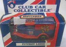 Matchbox 1/64 AFL  Australia  Aussie Rules Fitzroy Lions