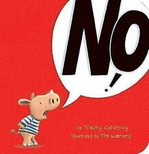 No! by Tracey Corderoy (2015, Board Book)