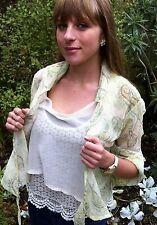 Paisley Wrap Top Blouse Womens FreeSize Designer Southern SandStar Australia