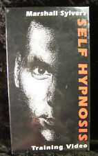 Marshall Sylver: Self Hypnosis (sealed) VHS -- Training Video