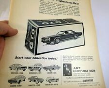 1967 GTO Pontiac AMT Mini Trophies clippings Advertisement  Ad