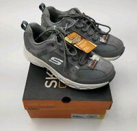 Mens Shoes Skechers 59937S/GYW Oak Canyon Razee Sz 8.5 Memory Foam Gray Outdoor