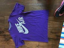 Nike Purple with Yellow T-Shirt in Boys Size L