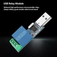 USB Relay Module MCU PC USB Smart Control  Jog Self-Locking Convenient