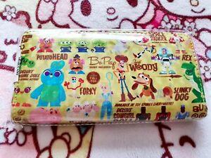 Disney License Hologram Long Wallet Toy Story 20cm