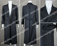 Sherlock Holmes Cosplay Trench Coat Wool Version Fabulous Costume Clothing New