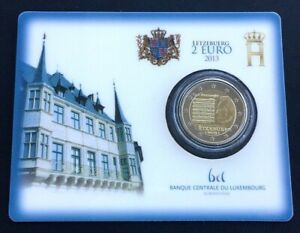 Luxembourg 2 Coincard Hymne National - Lëtzebuerg 2013 - Luxembourg