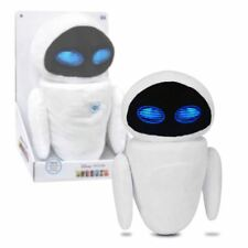 "New Disney Pixar WALL-E 12"" Cuddle 'N' Talk EVE Plush Lights & Sounds Official"