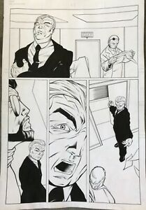 Original comic art page published Fully inked!