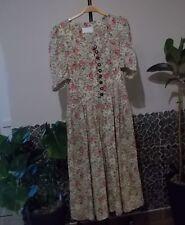 Damen Trachten Kleid creme geblümt Gr 40 von SPORTALM