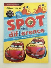 Disney Pixar Spot the Difference Kids Fun Activity Gift Stocking Filler NEW