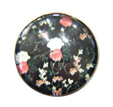 Noosa Style Chunks Snap Button Charms Chunk Charm Snaps Flowers 18mm 014