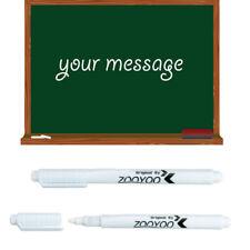 1x Weiß Flüssigkeit Kreide Stift Marker zum Glas Windows Tafel SchreibenWerkzeug