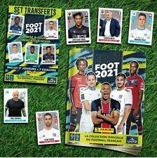 MISE À JOUR SET TRANSFERTS PANINI FOOT 2021 NEUF SOUS BLISTER FRANCE
