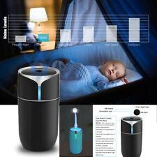 230ml LED Car Humidifier Air Purifier Freshener Essential Oil Diffuser Portable