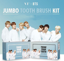[BTS x VT] Think Your Teeth Jumbo Kit / Jumbo Tooth Brush Kit + BTS Photocard