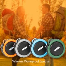 Gln Waterproof Portable Wireless Shower Speaker  Indoor - Outdoor w/Built in Mic