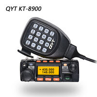 QYT KT-8900 Car Mobile Two Way Radio 200CH V/UHF 136-174/400-480 25W Transceiver
