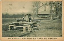 One of the Many Fireplaces Located in Eagle Rock Reservation, Orange NJ 1939