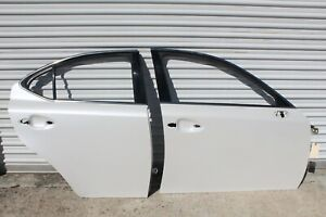2006-2013 Lexus IS-F ISF is250 is350 passenger side front and rear door shells