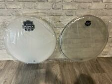 """More details for mapex bass drum heads skins set of 2 22"""" / un-used"""