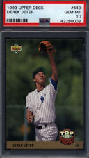 1993 Upper Deck #449 Derek Jeter Rookie Yankees PSA 10 *708985
