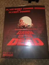 Mezco One:12 Dawn of the Dead Zombie 2-Pack Set Brand NEW Unopened Box