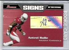ANTREL ROLLE 2005 BOWMAN SIGNS OF THE FUTURE WORN JERSEY - ROOKIE
