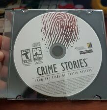 Crime Stories - From  Files of Martin Mystere  (disc only) PC GAME - FREE POST *
