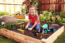 Matchbox Grow Pro Kids Gardening Toy Farming Truck Garden Tools Playset Kit Set