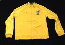 Nike Brazil CBF Authentic N98 Track Jacket Copa America Style 727809 Size XL