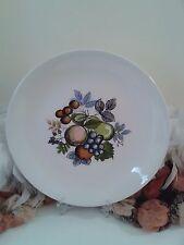 Swinnertons Fruit Harvest large plate, Dessert or cake plate with fruit pattern