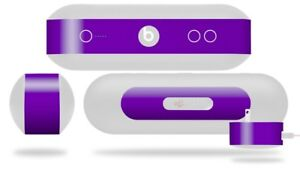 Skin for Beats Pill Plus Solids Collection Purple Decal Wrap