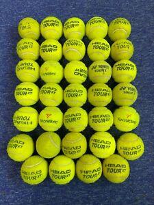Used Tennis balls x 34