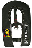 Axis Inflatable PFD Lifejacket Offshore Pro Hammar 150