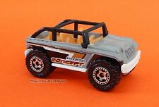 2013 Matchbox Loose Jeep Willys Concept Grey Tan Seats Brand New Combine Ship