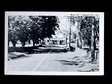 c.1940? Abraham Manchester's Store Old Harbor Rd. Adamsville RI post card