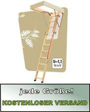 Escalera de suelo escalera de memoria FAKRO LWL lux 70 x 130 x 305 cm