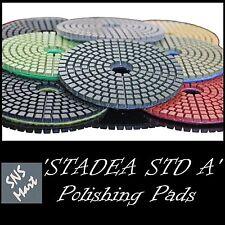 STADEA 5 Inch Wet Diamond Polishing Pads Sanding Disc Concrete Stone - Grit 30