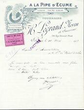 Dépt 76 - Rouen - A La Pipe d'Ecume Fournitures pour Bureaux de Tabac 14/05/1913