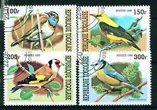 Togo African Birds set 1999 stamps